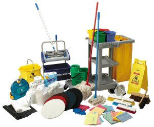 About equipment and chemicals used by Office Management Services